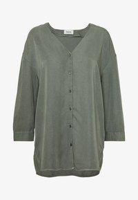 Modström - BELLEVUE - Blouse - dark khaki - 4