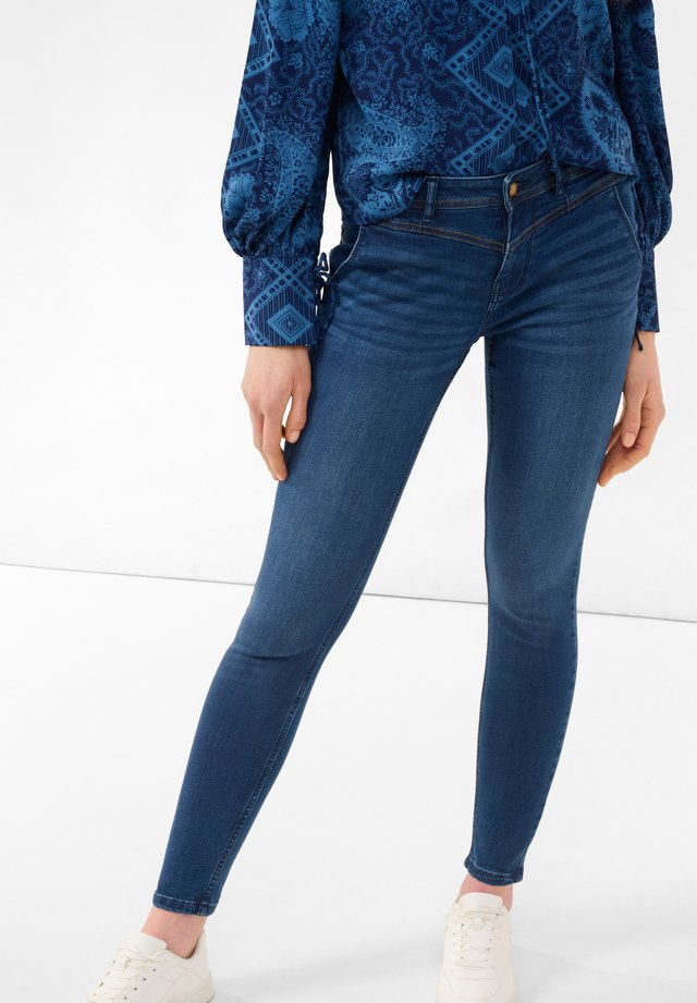 Jeans Skinny Fit - dark stoned