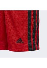 adidas Performance - Sportovní kraťasy - scarle - 4