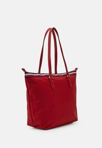 Tommy Hilfiger - POPPY TOTE CORP - Tote bag - red - 1