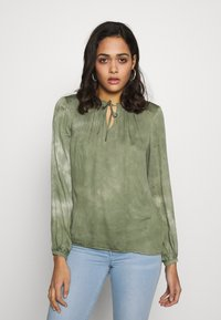 b.young - BYJANETTE - Blouse - sea green combi - 0