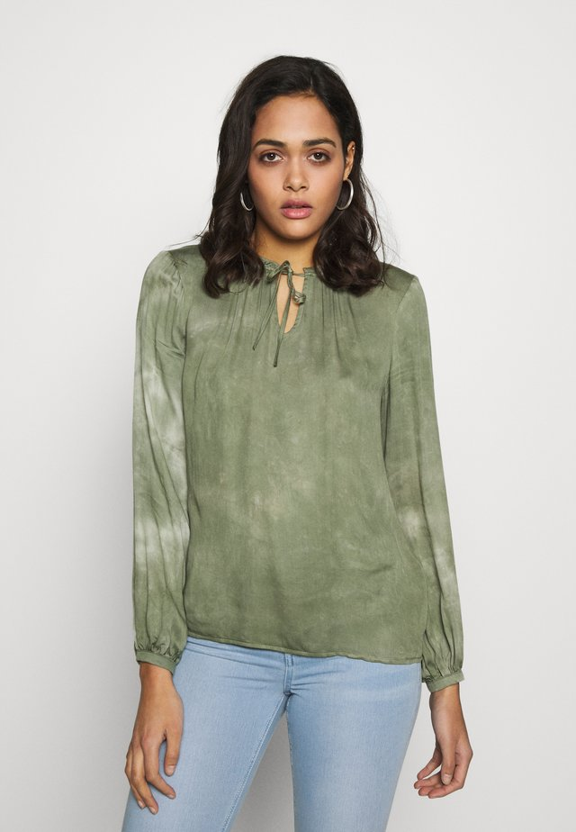 BYJANETTE - Blouse - sea green combi