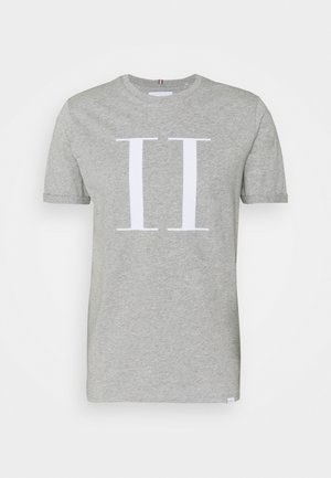 ENCORE  - T-Shirt print - grey melange