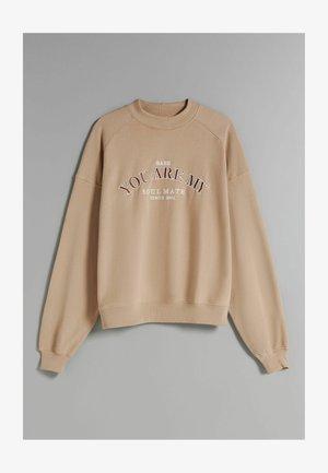 OVERSIZE - Sweatshirt - camel