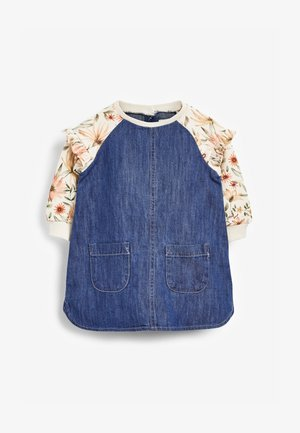 FLORAL RAGLAN - Day dress - blue