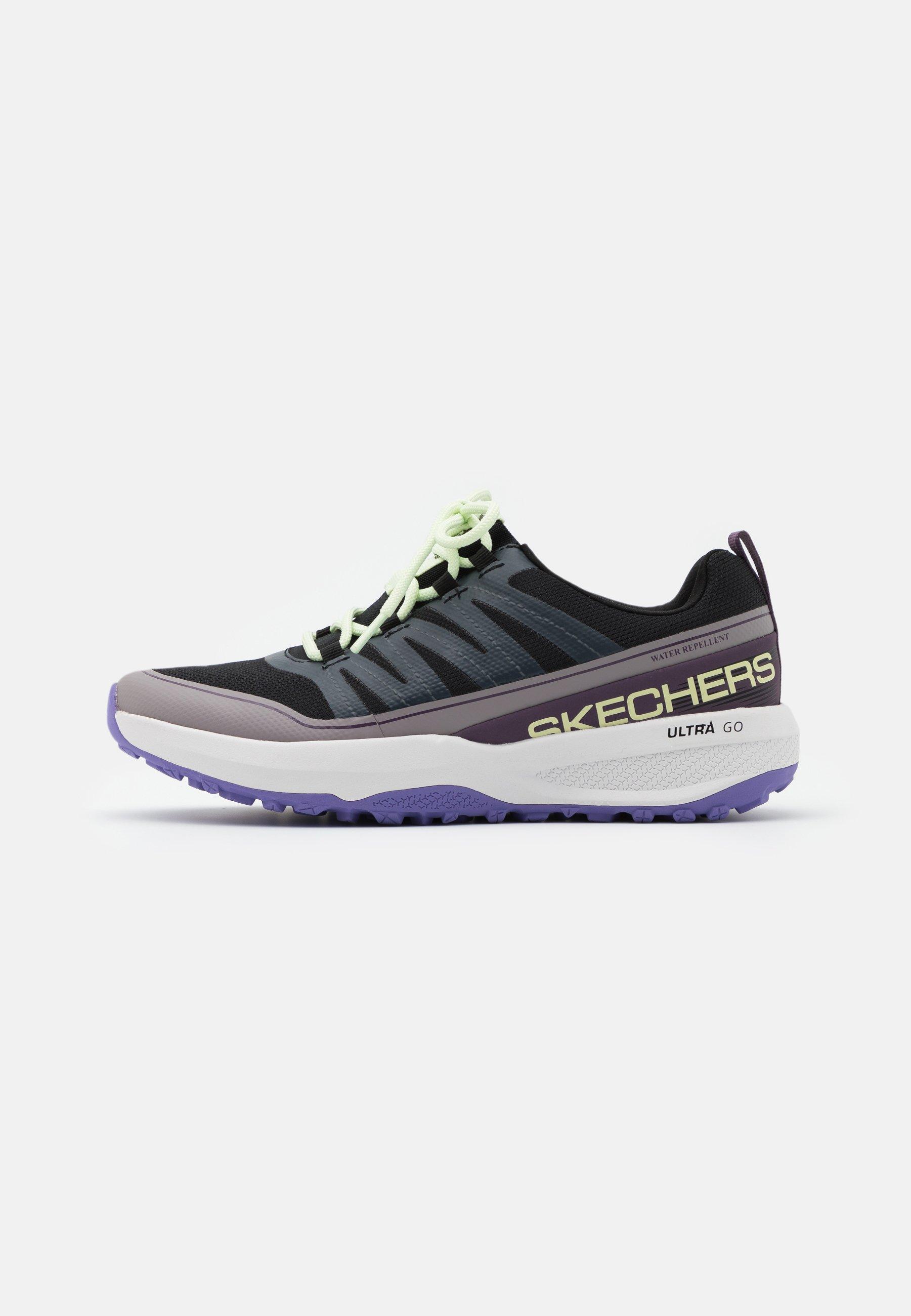 Senado en términos de Médula  Skechers Performance GO TRAIL JACKRABBIT - Trail running shoes - black/ multicolor - Zalando.ie