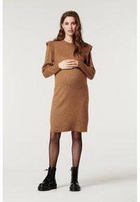 Supermom - DRESS - Stickad klänning - toasted coconut - 3