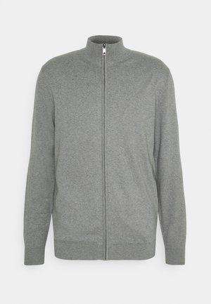FULL ZIP - Cardigan - medium grey