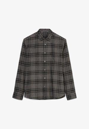Shirt - multi/gray pinstripe