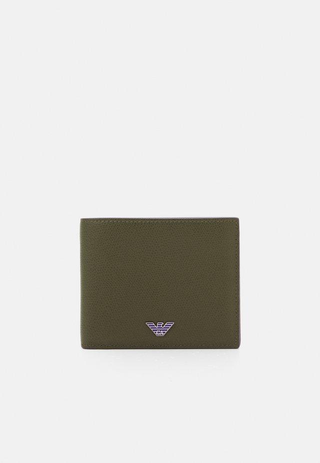 WALLET UNISEX - Peněženka - dark green