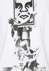 Obey Clothing - OBEY BUST - Printtipaita - white - 2