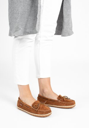 TILIA - Buty żeglarskie - brown