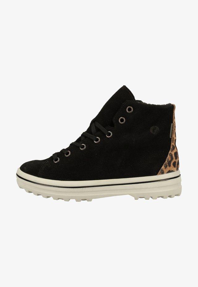 Sneakersy niskie - schwarz /kork 092