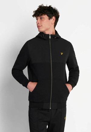 Zip-up hoodie - jet black