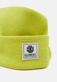 Element - DUSK BEANIE BOY - Čepice - limeade - 2