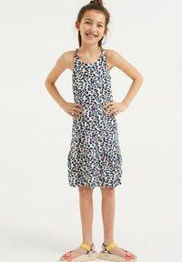 WE Fashion - MET PANTERDESSIN - Jersey dress - multi-coloured - 0