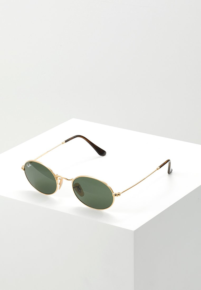 Ray-Ban - 0RB3547N OVAL - Sunglasses - gold-coloured