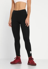 Puma - ESS LOGO - Tights - cotton black - 0
