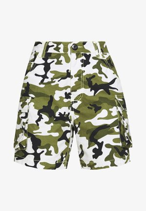 Shorts - green/white/black/yellow
