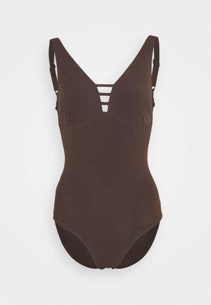 OPAL GLEAM  - Swimsuit - chocolate