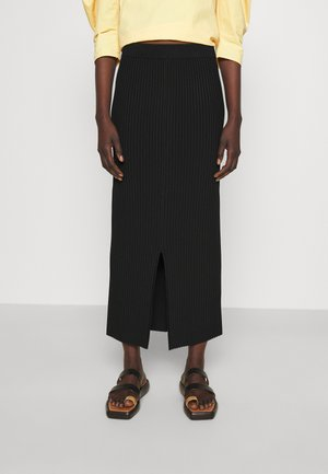 OCTO - Pouzdrová sukně - black