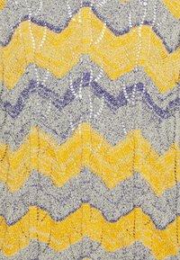 Missoni - MANICA LUNGA SCOLLO - Trui - yellow/dark blue - 6