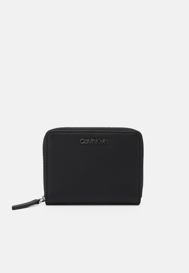 Calvin Klein - WALLET FLAP - Peněženka - black
