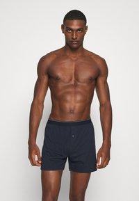 Marc O'Polo - 2 PACK - Boxer shorts - dark blue/grey - 0