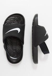 Nike Performance - Outdoorsandalen - black/white - 0