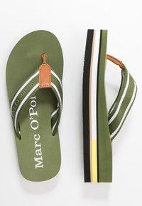 Marc O'Polo - DORA  - Sandály s odděleným palcem - khaki - 3
