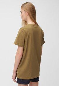 Marc O'Polo DENIM - Print T-shirt - brown ochre - 2
