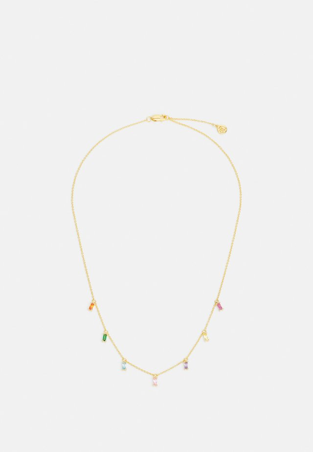 PRINCESS BAGUETTE NECKLACE - Collier - gold-coloured