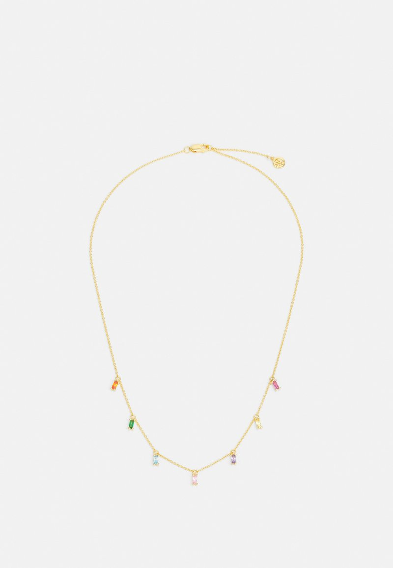 Sif Jakobs Jewellery - PRINCESS BAGUETTE NECKLACE - Necklace - gold-coloured