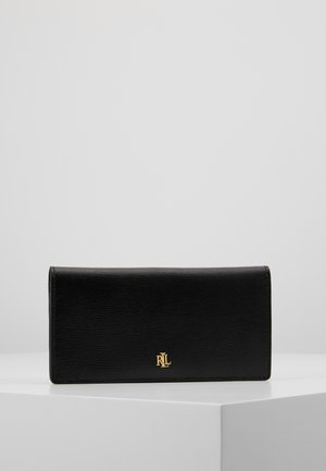 SAFFIANO SLIM WALLET - Portefeuille - black