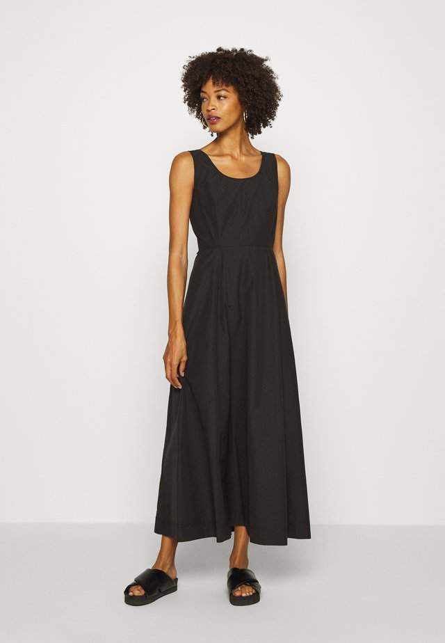 FORY DRESS - Maxi-jurk - black