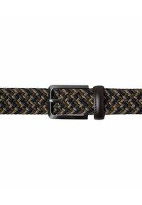 BRAX - Braided belt - dark blue/green - 2