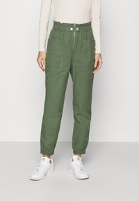 GAP - UTILITY - Trousers - olive - 0