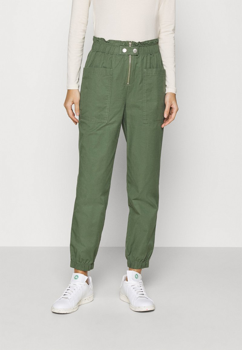 GAP - UTILITY - Trousers - olive