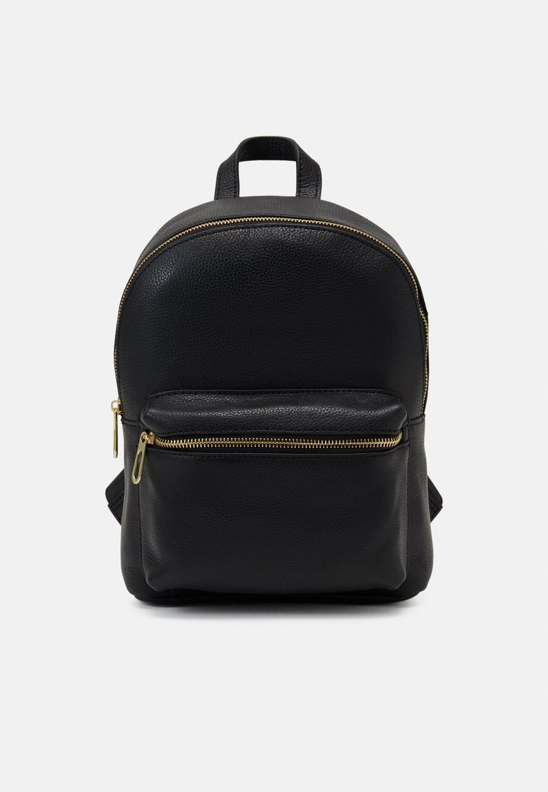 Zign - LEATHER - Rucksack - black