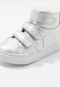 Veja - SMALL ESPLAR MID  - High-top trainers - unicorn white/white - 2