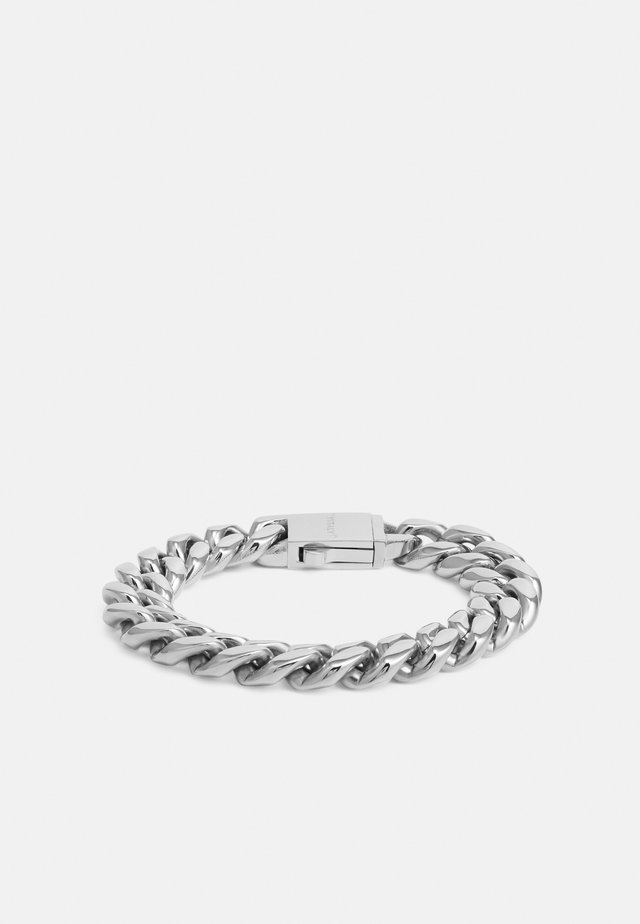 REACT UNISEX - Armband - silver-coloured