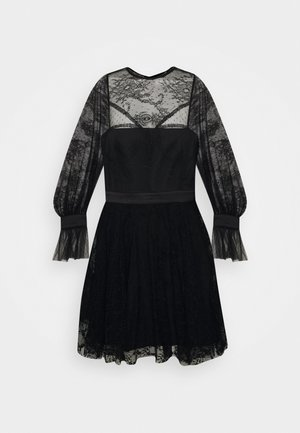 LOVE MINI DRESS - Robe de soirée - black