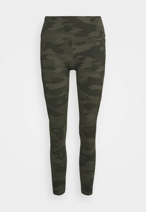 POWER WORKOUT LEGGINGS - Leggings - olive