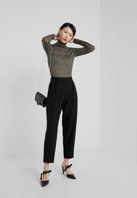 Bruuns Bazaar - CINDY DAGNY PANT - Trousers - black - 1