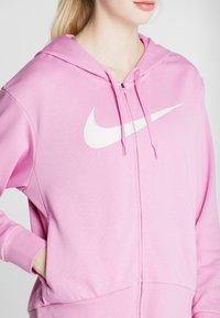 Nike Performance - W NK DRY GET FIT FC FZ H ES GX - Bluza rozpinana - magic flamingo/barely rose - 4