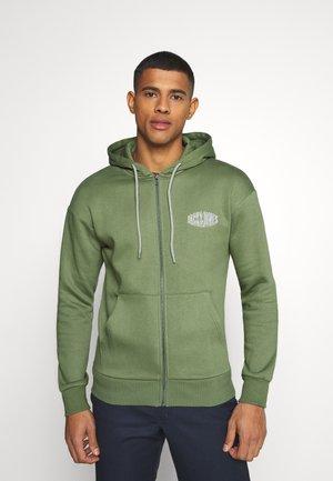 JORPRESTON ZIP HOOD - Zip-up hoodie - sea spray