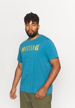 ALEX LOGO - T-shirt med print - bluesteel