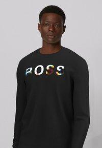 BOSS - TDIGITIZE - Maglietta a manica lunga - black - 3
