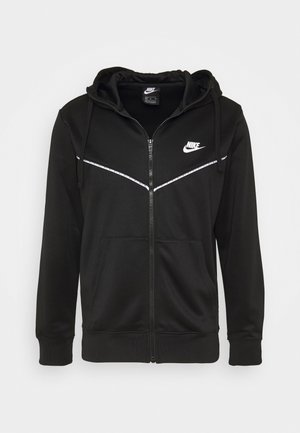 REPEAT HOODIE - Sweatjakke /Træningstrøjer - black