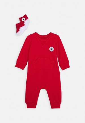 LIL CHUCK COVERALL SET UNISEX - Jumpsuit - enamel red